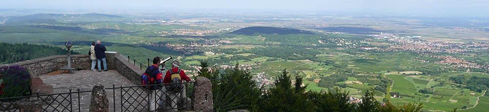 Odilienberg Kloster Ausblick