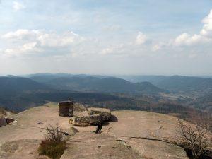 Ausbilck vom Gipfel des Donon